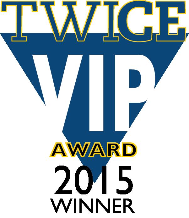 TWICE 15 VIP Award